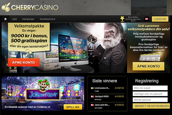 cherrycasino screenshot