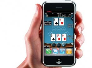 iphone hand cardgame