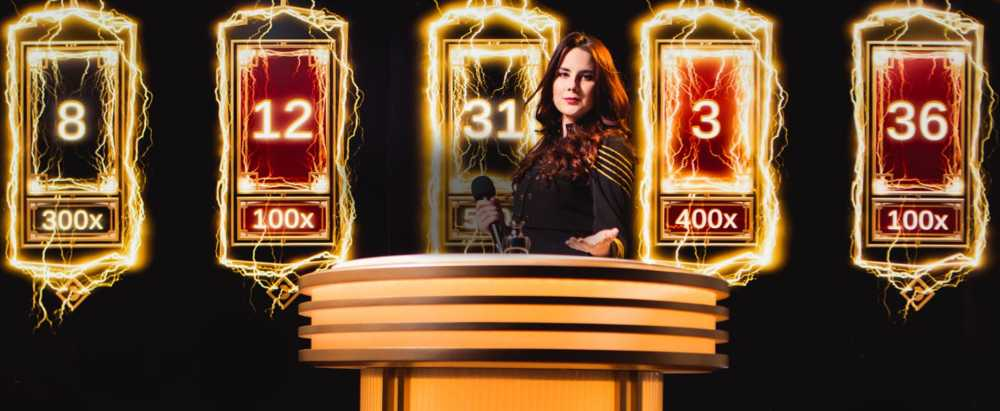 Spill live casino med Evolution Gaming!